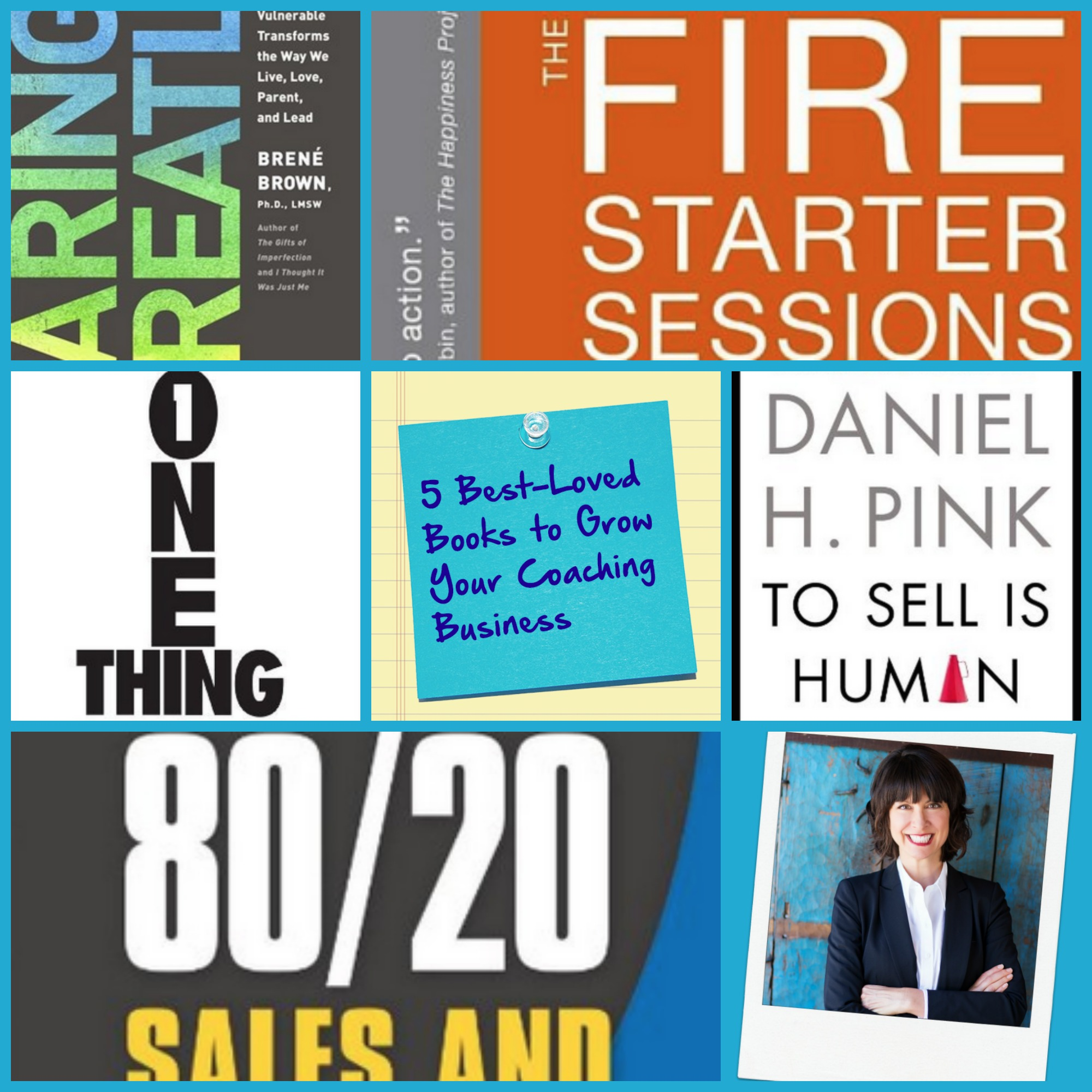 5 Best-Loved Books to Grow Your Coaching Business