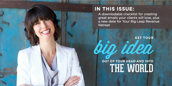 Newsletter:  Growing Your Email List, a Downloadable Checklist, & Our Next Virtual Retreat