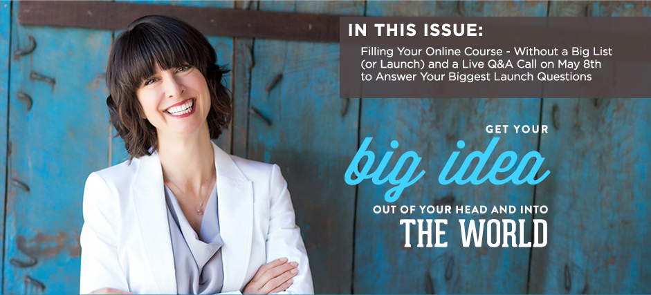 Newsletter: How to Fill Your Online Courses – Without a Big List (Free Tool)