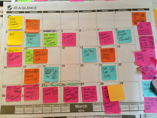 3 steps to create a 12 month launch and promotion calendar