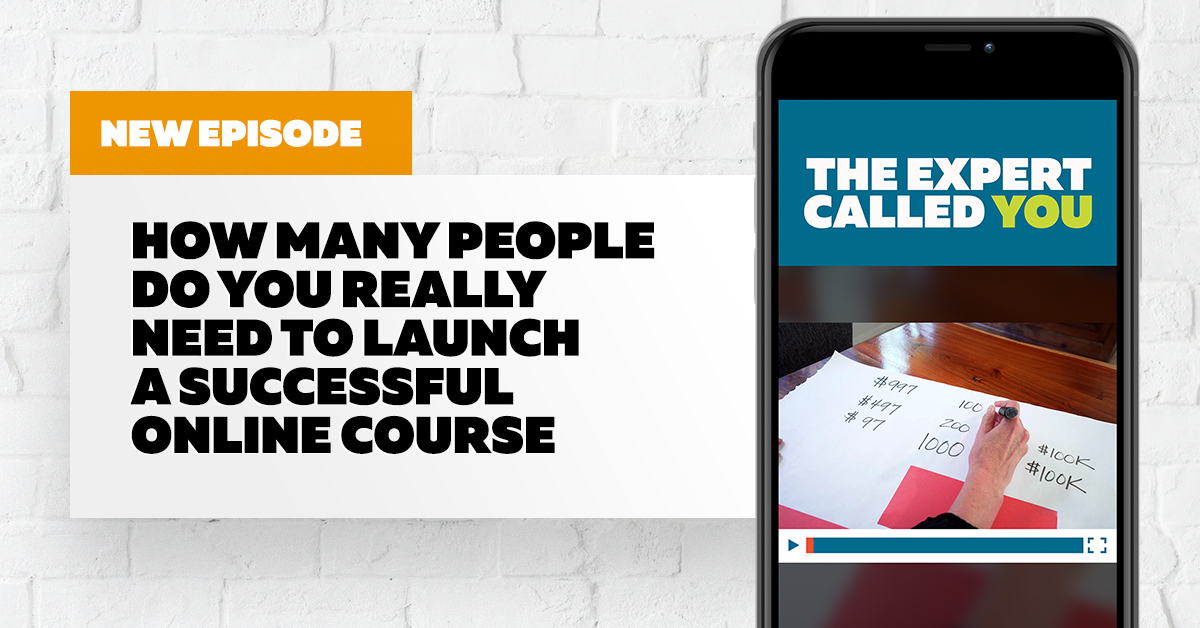 How Many People Do You REALLY Need to Launch a Successful Online Course