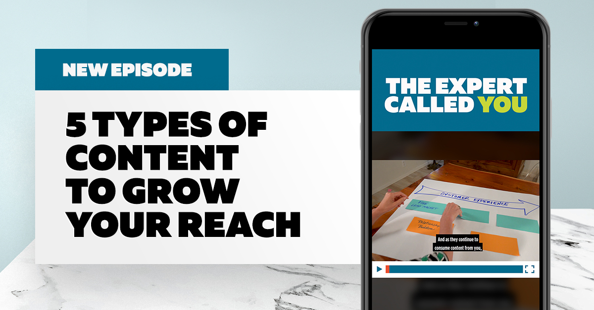 5 Types of Content to Grow Your List (and Convert More Prospects)