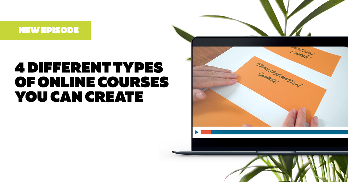 4 Different Types of Online Courses You Can Create