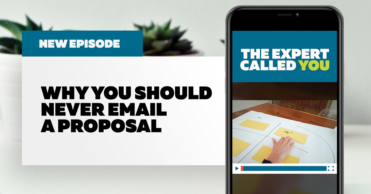 Why You Should Never Email a Proposal (and What to Do Instead)