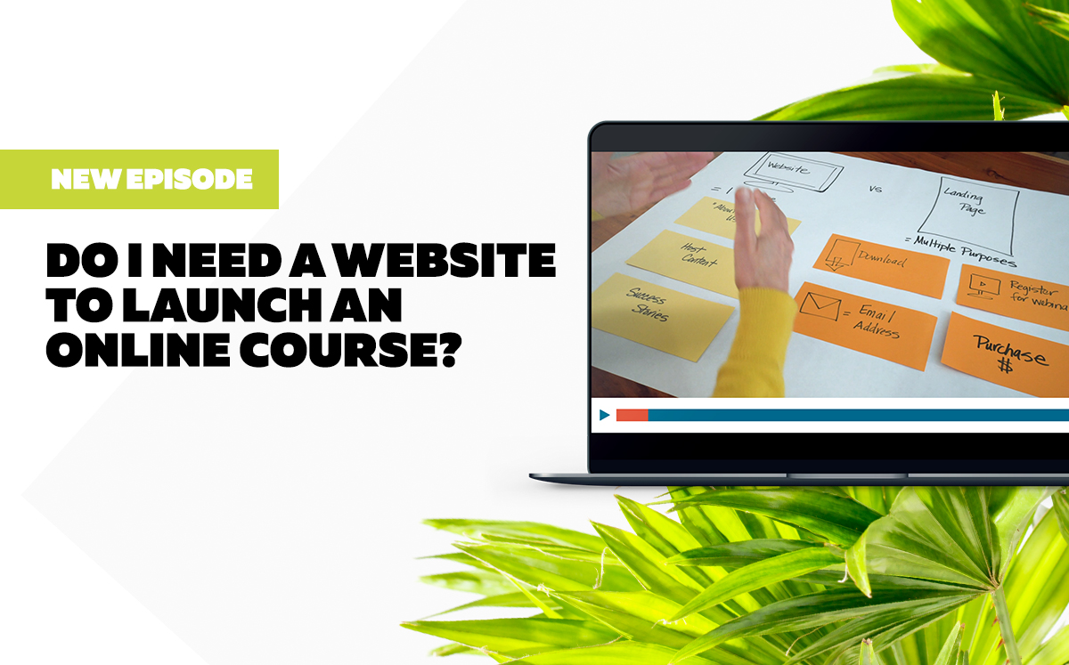 Do I Need a Website to Launch an Online Course?